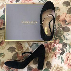 Louise et Cie black heels // Size 8